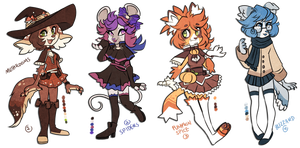 Fall Adopts 2 ( CLOSED!) by Snorechu