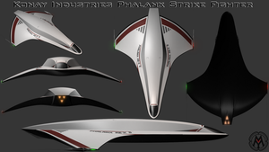 Phalanx Strike Fighter by MikomDude
