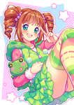 [+Video] Cute Froggy Yayoi by Neko-Rina