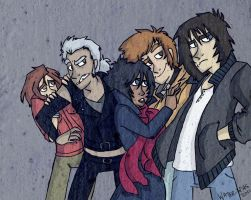 wolf's rain crew by water-wing