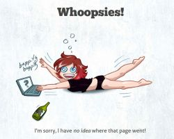 404: Whoopsies by rachelthegreat