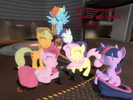 Glomp attack by OudieTH