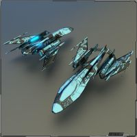 Low Poly Spaceship by PINARCI