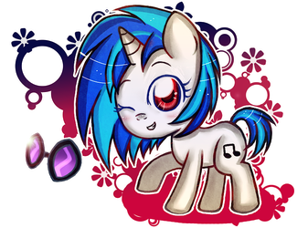 Vinyl Scratch by Noah-Nyan