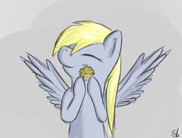Muffin hug by TheSlendid