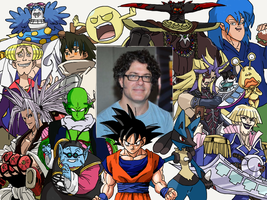 Character Compilation: Sean Schemmel by Melodiousnocturne24