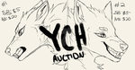 Canine YCH Auction (OPEN, PAYPAL ONLY) by Trrraven