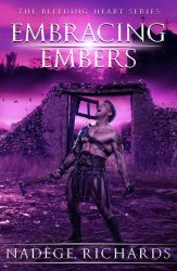 Embracing Embers - book cover by Morteque