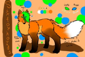 Six Fox Hounds REF by AElOU