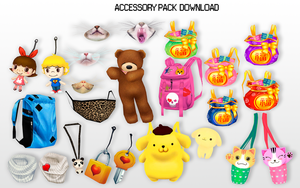 MMD Accessory Pack DL by UnluckyCandyFox