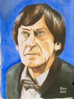 Patrick Troughton as Dr.Who by Atom-Cat9000