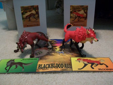 The Blackblood Alliance BBA Figures and Comic by Bloodthirstwolf