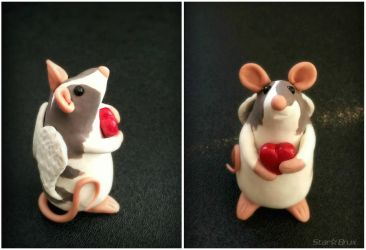 Nugget A. - CUSTOM Rattie by StarBrux