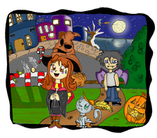 Haloween Commision by Zoba22