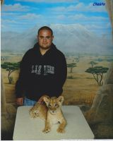 Las Vegas MGM grand lion cub by montrain101