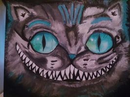 Cheshire cat finished by darkpony145