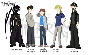 The Umbrage-Cast of Charactes by Tuz-oh