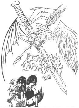 Demonic Labrynth again by WhispersOfTwilight
