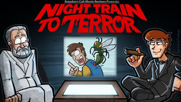 Titlecard: Night Train to Terror by hooksnfangs
