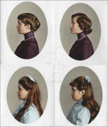 Four daughters of the Tsar by olgasha