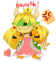 bowsette???? ? by temporaryWizard