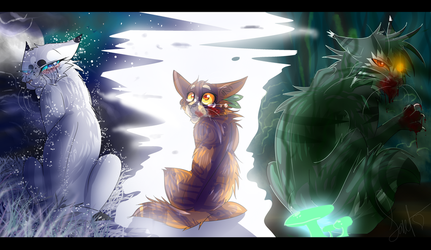Thistleclaw (Warrior Cats) by WarriorCat3042