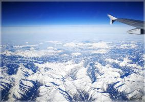 Above the Alps by KlaraDrielle
