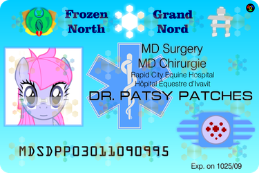 Frozen North ID - Doctor Patsy Patches by Kyoshyu