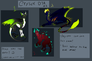 Crylick DTA round 1 CLOSED by Cheshiretails