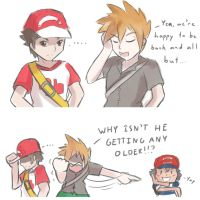 Pokemon SM: Age mystery by unknownlifeform