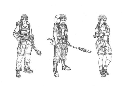 Character Concepts by Virtuaalivalo