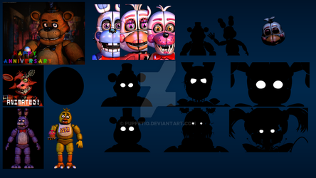 All of my Unfinished/Unreleased Renders by Puppetio