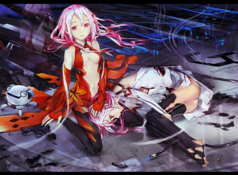 Mirror inori by DanEvan-ArtWork