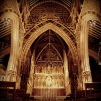 All Saints Altar by lostknightkg