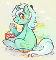 Hooves and Popcorn by Mi-eau