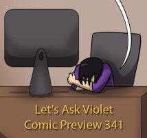 Let's Ask Violet Comic Preview 341 by eyesofviolet13