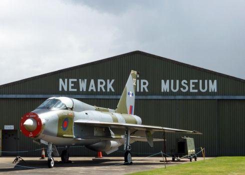 English Electric Lightning T.5 XS417 by homicidal45