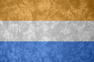 United Provinces ~ Grunge Flag (1581 - 1795) by Undevicesimus