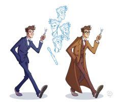 The Tenth Doctor by Phil-Crash-Murphy