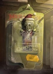 My Design for the Megadeth Christmas Card 2016 by Noumier