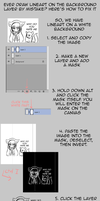 Tutorial - How to separate lineart by Zedrin