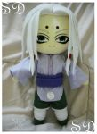 Kimimaro Plushie by renealexa-plushie