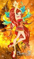 Charlotte, Fire Elementix G. by EmmY190