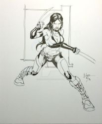 x-23 by EDGARSALAZAR