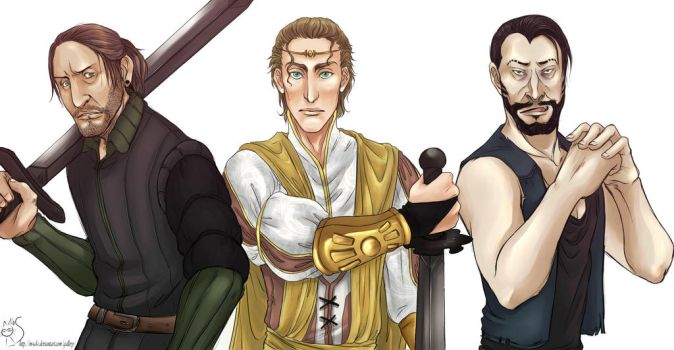 Three who pull no punches... by M-I-D-S