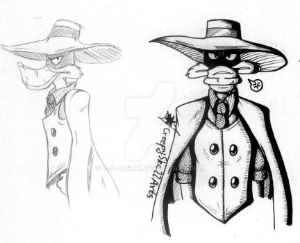 RP AU - Negaduck's new outfit by P-A-Jason