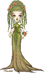 Tree Nymph by Rythea