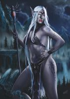 Drow Princess by malverro