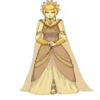 Gold (full body) by TheClockworkKid