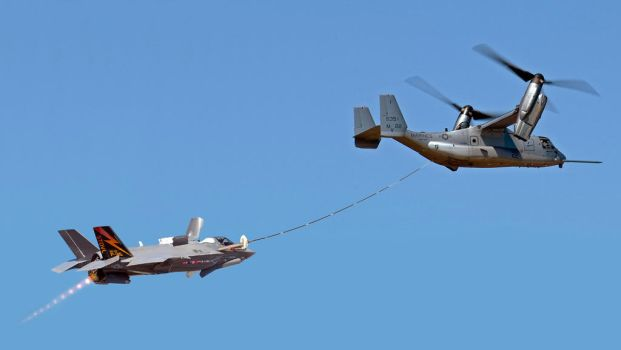 MV-22 and F-35B Air Refueling by db120